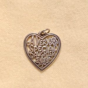 "James Avery ""very special daughter"" charm"